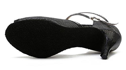 TDA ,  Damen Tanzschuhe 8.5cm Black