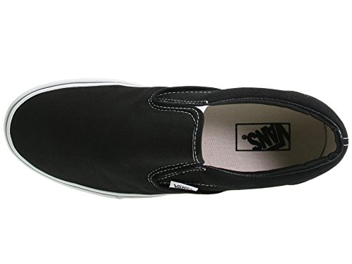 Vans U Classic Slip-on, Baskets mode mixte adulte noir/blanc