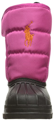 Polo Ralph Lauren Hamilten II Ez Junior Active Pink Nylon Snow Boots Active Pink