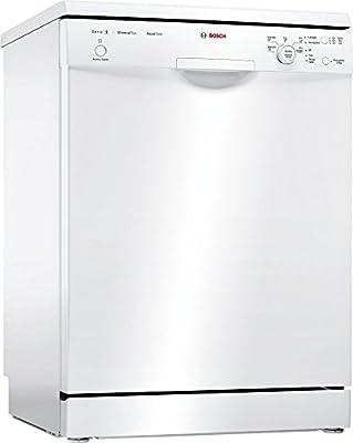 Bosch Serie 2 SMS25AW01J Independiente 12cubiertos A++ lavavajilla - Lavavajillas (Independiente, Blanco, Full size (60 cm), Blanco, Botones, Giratorio, 1,75 m)