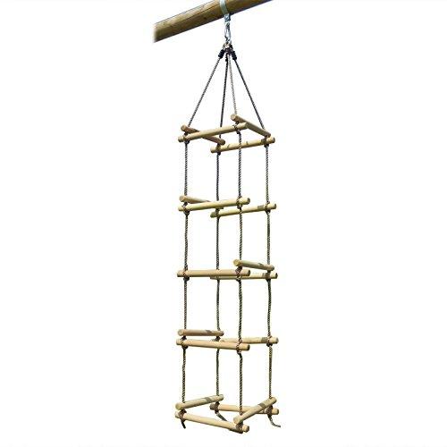 Strickleiter 4 Seiten mit Holzsprossen von Gartenpirat®