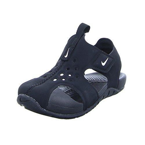 new products b9915 98626 Nike Sunray Protect 2 (TD), Sandales de Sport Mixte Enfant, Noir (