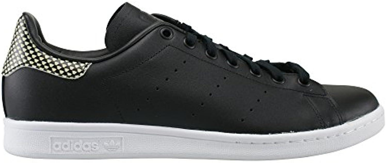 adidas Stan Smith Black Black White  Billig und erschwinglich Im Verkauf
