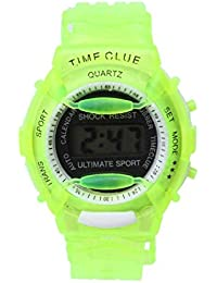 Malloom® moda Niños Niñas natación deportes digital impermeable reloj de pulsera (D)