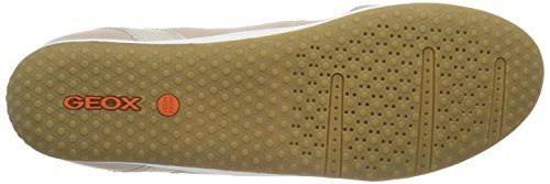 GeoxD VEGA A - Scarpe da Ginnastica Basse Donna Beige (Beige (LT TAUPEC6738))