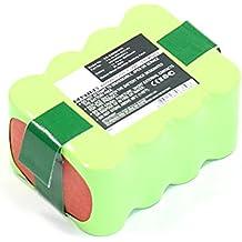 subtel® Batería Premium (14.4V, 2000mAh, NiMH) Compatible con Klarstein Cleanfriend