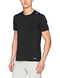adidas TF Base Fitted Camiseta, Hombre, Negro, M