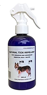 Chambers Natural Tick Repellent 250ml from Chambers Guilfoyle Ltd