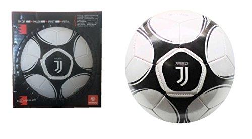 Mondo 13720S Pallone di Cuoio da Calcio Juve Juventus F.C. Logo Nuovo in Scatola Regalo