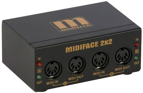 Miditech MIT-00128 Midiface 2x2Midi-Interface