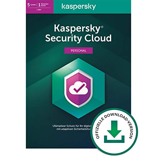 Kaspersky Security Cloud - Personal Edition | 5 Geräte | 1 Jahr | Aktivierungscode per Email