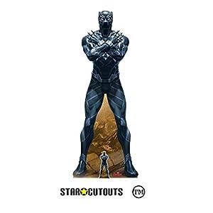 StarCutouts Ltd SC1412 Avengers Marvel Legend Black Panther T