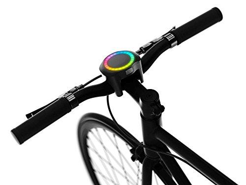 SmartHalo, Fahrradcomputer, Bluetooth, schwarz