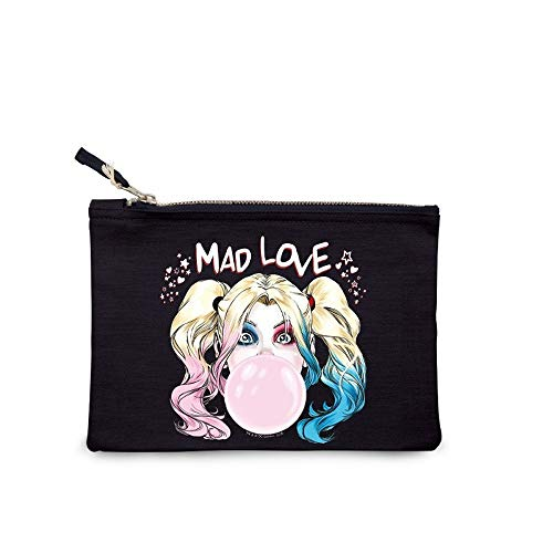 DC Comics - Suicide Squad - Damen Make Up Kosmetiktasche - Harley Quinn - Mad Love