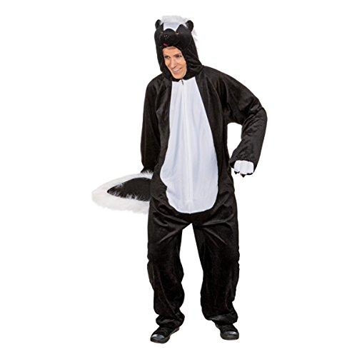 Orlob Unisex Kostüm Stinktier Skunk Karneval Fasching 160 bis 175cm