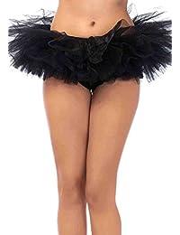 Leg Avenue Halloween Special Tutu, One Size, Black