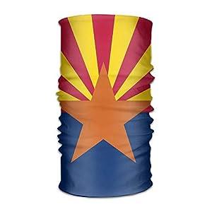 DEFFWBb UYILP Bandana Headband Fashion Flag Map of Arizona Multifunction Magic Handscarf,Face Mask,Neck Gaiter,Balaclava,Sweatband,Head Wrap,Outdoor Sport UV Resistence.