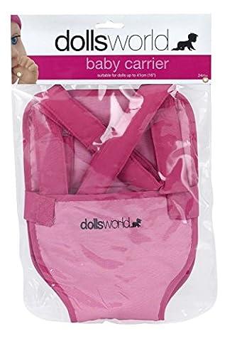 Dolls World - Baby Carrier – Porte-Bébé pour Poupon 46 cm - Baby Doll Sling