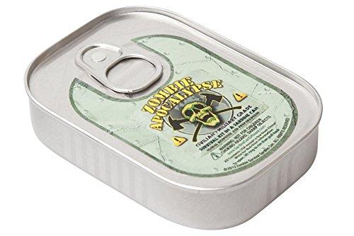 Sardine Can Giftware Zombie Apocalypse Überlebensausrüstung in Sardinenbüchse für Zombie-Apokalypse (Zombie Kit)