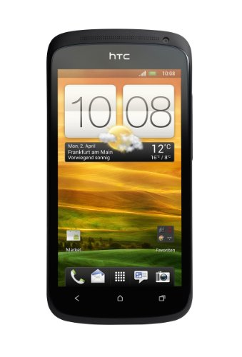 HTC HTC ONE S Smartphone (10,9 cm (4,3 Zoll) AMOLED-Touchscreen, 8 Megapixel Kamera, Android OS) schwarz