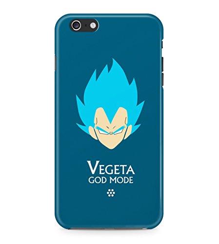 Dragon Ball Z Vegeta God Mode Hard Plastic Snap On Back Case Cover For iPhone 6 Plus / 6s Plus Custodia