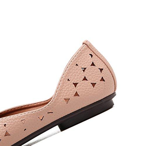 A & Ndiug00064 - Chaussures Femme Fermées Rose