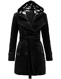 Manteau demi long femme