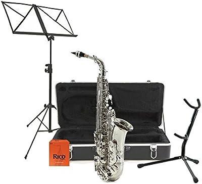 Pack Completo de Saxofón Alto - Níquel