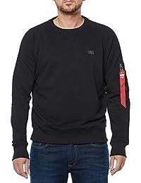 Alpha Industries Sweater X-Fit, Farbe:black;Größe:S