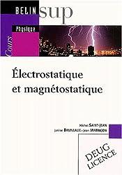 Electrostatique et magnétostatique : Cours