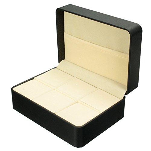 Ducomi® Jemes - Caja Expositor Guardar Gemelos Pisacorbatas