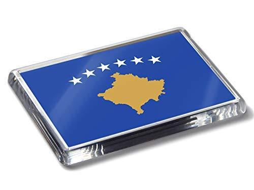 Flag Of Kosovo National Farben Strong Acryl Kühlschrank-magnet Wohndeko