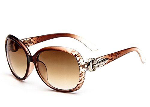 Oath_song Damen Sonnenbrille Mehrfarbig brown floral