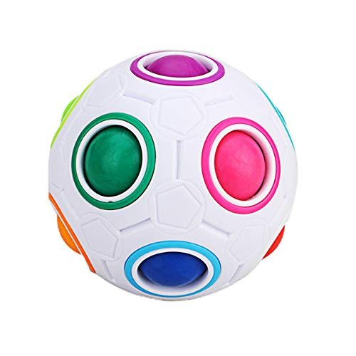 inbow Puzzle Ball Würfel, Magie Regenbogen Ball Spielzeug für Kinder ()