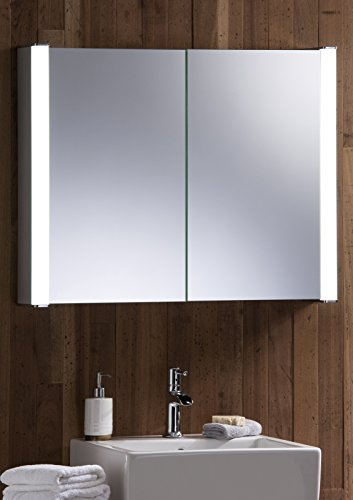 Armoire-de-salle-de-bains-illumin-LED-65-cm-H-x-80-cm-L-x-13-cm-avec-prise-et-interrupteur-C13-avec-lumires-livraison-GRATUITE-et-les-retours-gratuits
