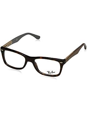 Ray-Ban 2012 5228 Monturas de gafas, Wayfarer, 55, Negro