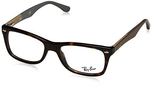 Ray-Ban Unisex-Erwachsene Brillengestell RX5228, Mehrfarbig, 53
