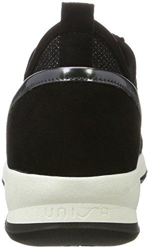 Unisa Damen Elisa_EV Sneaker Schwarz (Black)