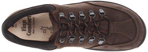Finn Comfort Mens Murnau Leather Shoes Slate Black