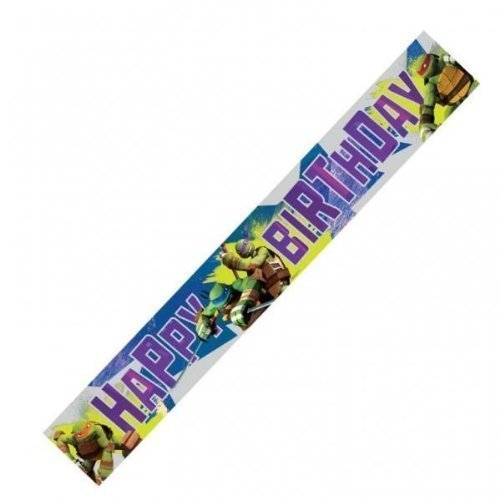 Image of Teenage Mutant Ninja Turtles Party Foil Banner
