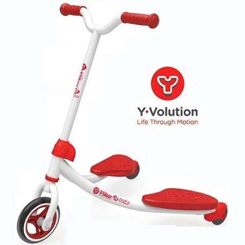 Y Fliker J2 Junior Scooter - Red