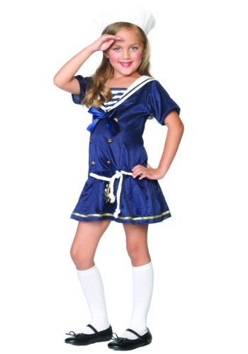 Shipmate Cutie Toddler Costume (X-Small (3T-4T)) by Leg Avenue