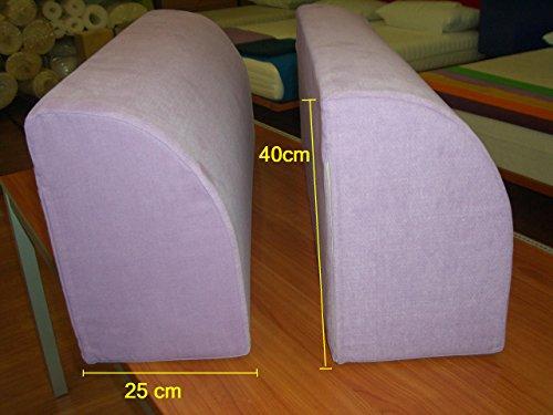 Resingomm spalliera per letto a ponte trasforma il letto in un divano due spalliere coperta - Spalliera letto imbottita fai da te ...