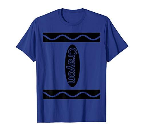 Box Crayon Kostüm - Crayon Box Halloween Kostüm Gruppe T-Shirt