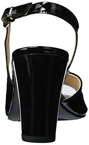 Caprice Damen 28304 Slingback Schwarz (Black Patent)
