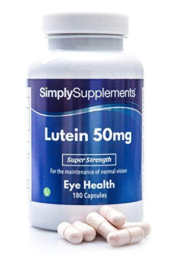 Luteina 50 mg  180 capsule  Adatto ai vegani