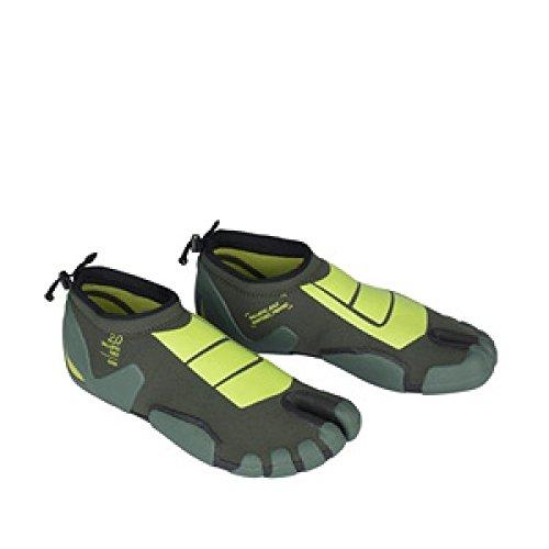 Litio neopreno Guantes Ballistic Toes 2.0mm Green 2016, todo el año, color , tamaño 37