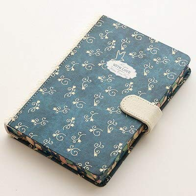 WanTo 2 stücke kretativ niedlich Kawaii copybook magnetische Schnalle Tagebuch nootbookNotebookschreibbuch Kugel Journal Schule schreibwaren, c