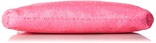 XYXYX - Sequins Bag, Sacchetto Donna Pink (Neon Pink)