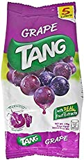 Tang Grape Flavour Instant Drink Mix Pouch, 175g